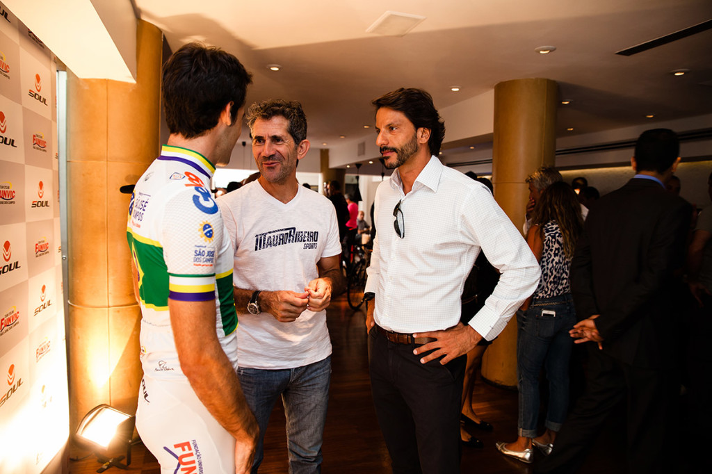 Pippo Garnero, Mauro Ribeiro e Tito Angelucci