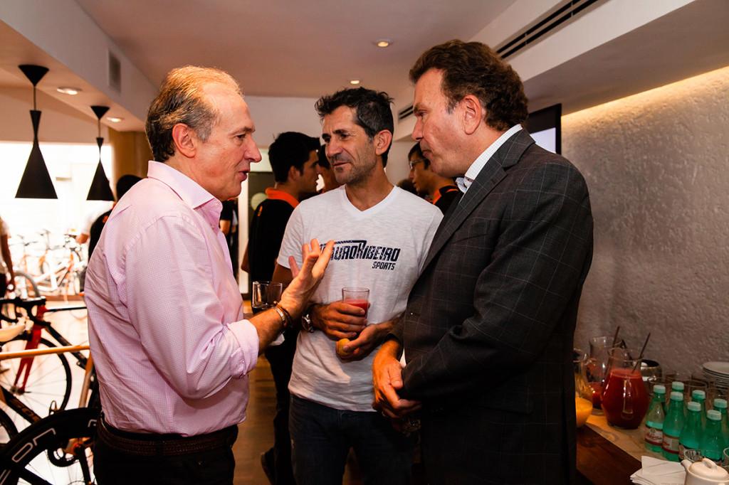 Victor Malzoni, Mauro Ribeiro e Julio Labate
