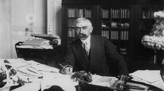 Pierre de Fredy, barão de Coubertin, que ressuscitou os Jogos Olímpicos.